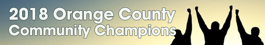 Orange County Community Champions 2018