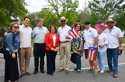 Mayor Teresa Jacobs joins Puerto Rican Parade and Festival