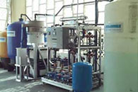Photo of water recycling system