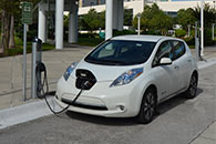 Photo of electric car